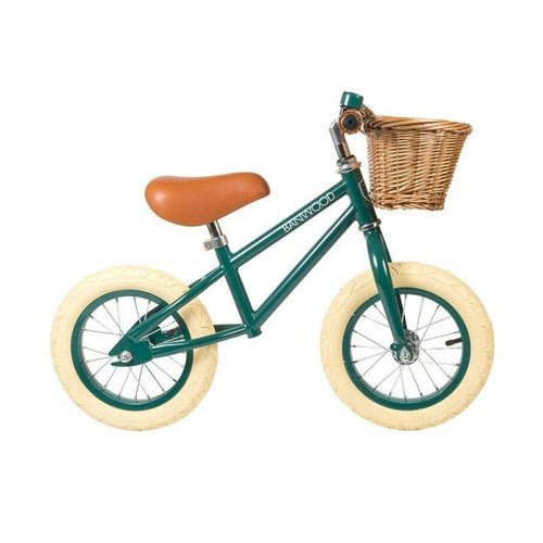 Banwood FIRST GO Green Loopfiets