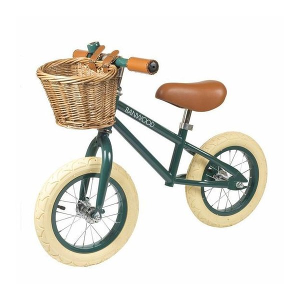 FIRST GO Green Balance Bike