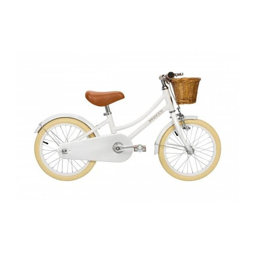 Banwood CLASSIC White Pedal Bike Fiets