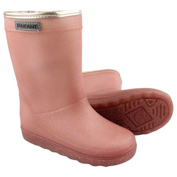 Thermo Boot Metallic Rose