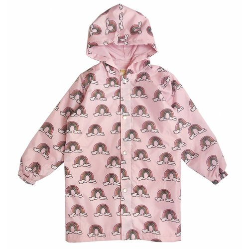 Hugo Loves Tiki Rain Coat Pink Crocodile regenjas