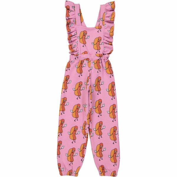 Ruffled Jumpsuit Hot Dogs