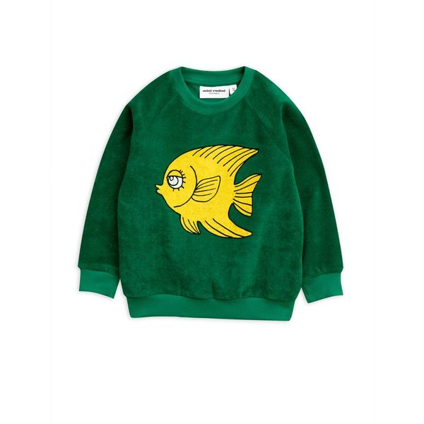 Fish Terry Sweatshirt trui