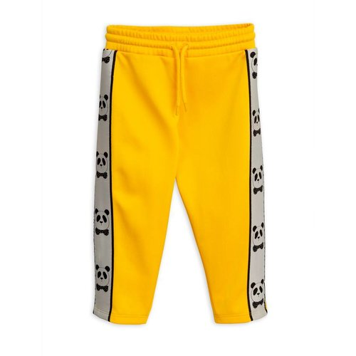 Mini Rodini Panda WCT Pants Yellow broek