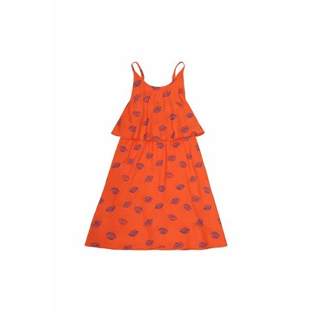 Soft Gallery Marisol AOP Kiss Flame Dress - jurk