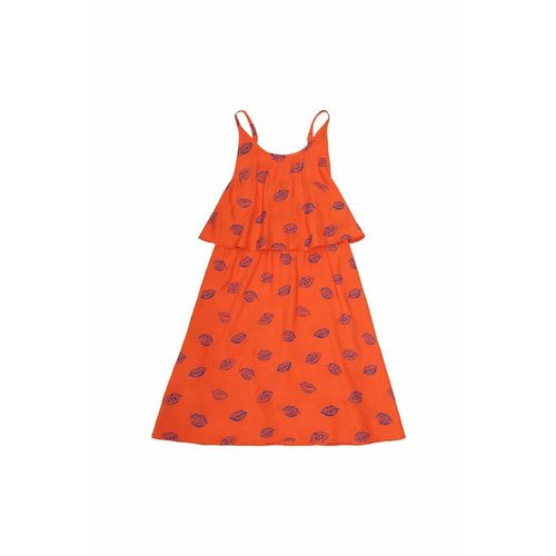 Soft Gallery Marisol AOP Kiss Flame Dress - jurk