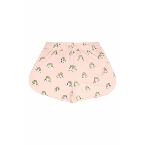 Paris Shorts AOP Lucky Pale Dogwood