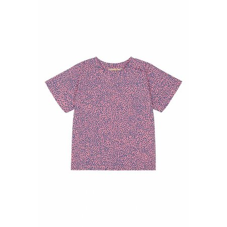 Soft Gallery Dominique t-shirt AOP Leospot Pink Icing