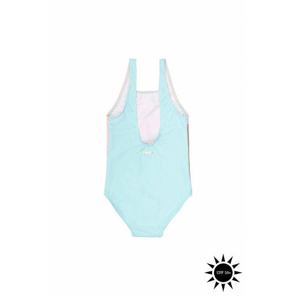 Darlin Swimsuit Block Swim Girl - zwempak