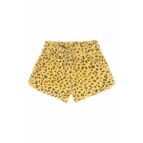 Soft Gallery Cera Shorts AOP Scribble Mimosa