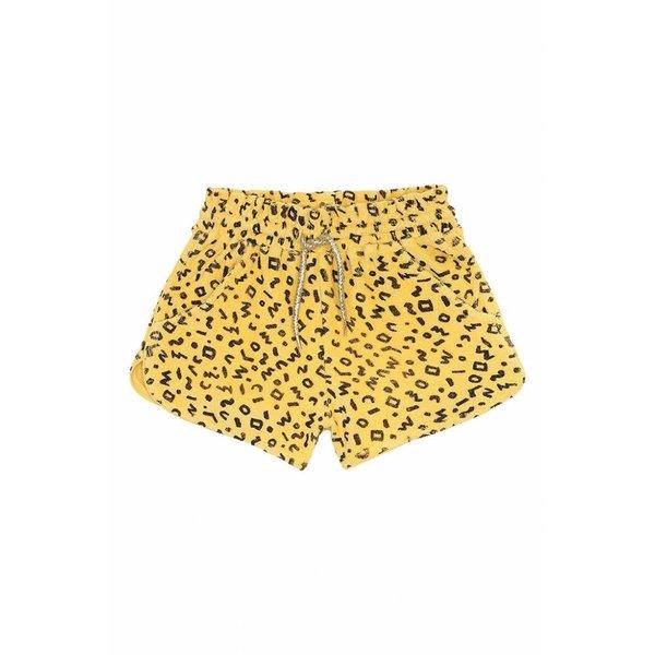 Cera Shorts AOP Scribble Mimosa