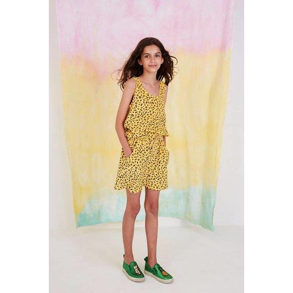 Darla Dress AOP Scribble Mimosa