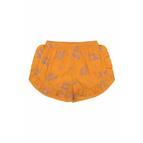 Soft Gallery Dusty Shorts AOP Lemon Sunflower