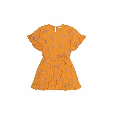 Soft Gallery Dory Dress AOP Lemon Sunflower