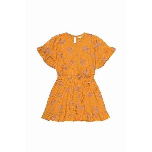 Soft Gallery Dory Dress AOP Lemon Sunflower