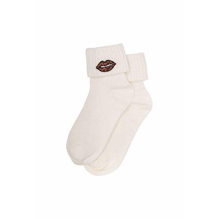 Soft Gallery Leolips Socks Cloud Dancer - sokken