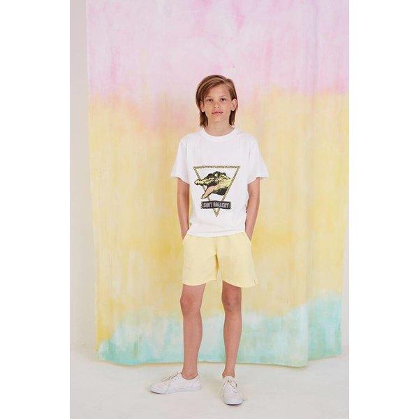 Asger T-shirt See Ya White