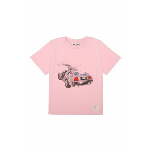 Soft Gallery Asger T-shirt Delorean Parfait Pink
