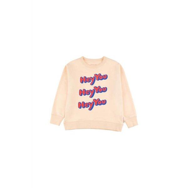 HEY YOU Sweatshirt cream