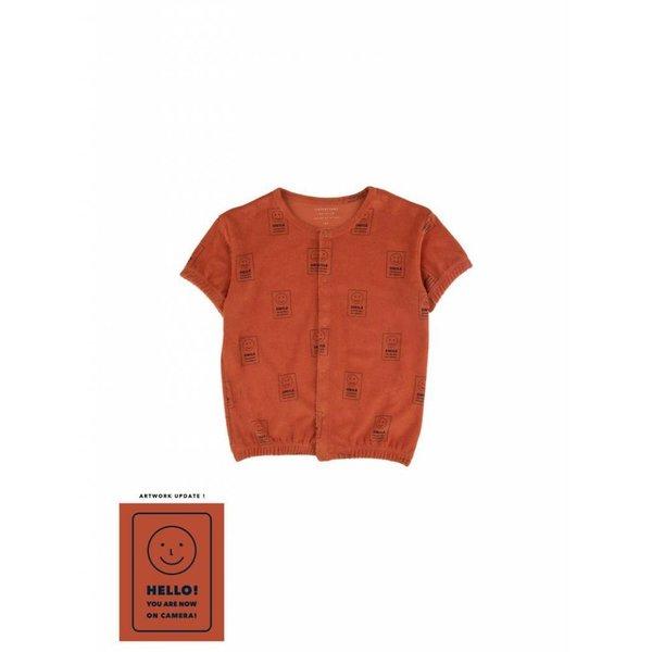 Hello SS Cardigan - vest/shirt