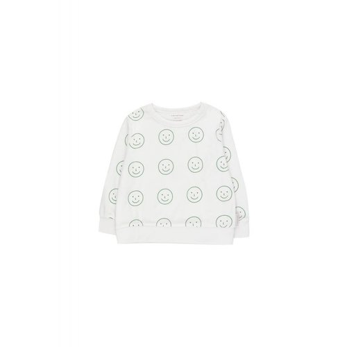 Tinycottons Happy Face Sweatshirt - trui