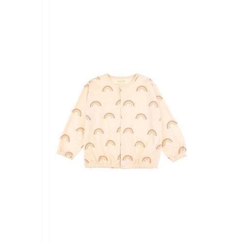 Tinycottons Rainbow Cardigan Cream - vest