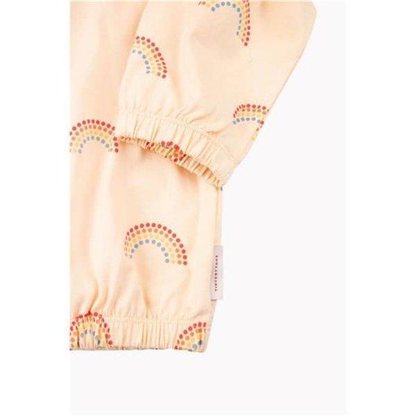 Rainbow Cardigan Cream - vest