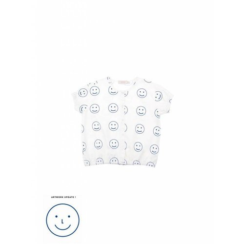 Tinycottons Happy Face SS Blouse