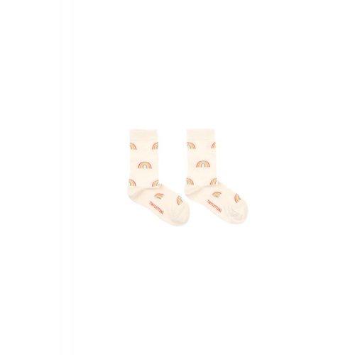 Tinycottons Rainbow Medium Socks Cream