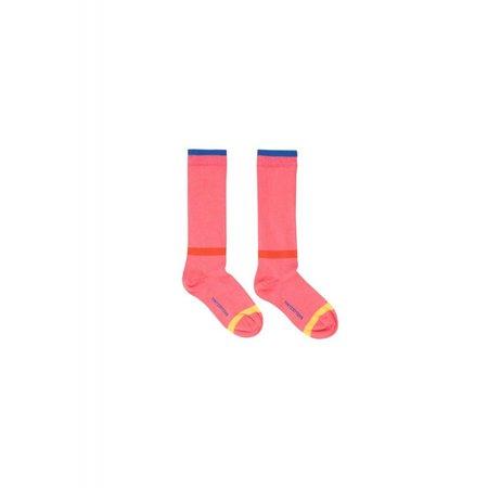 Tinycottons Lines High Socks rose - knie sokken