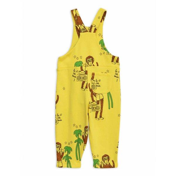 Cool Monkeys AOP Dungarees Yellow