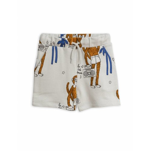 Mini Rodini Cool Monkeys AOP Sweatshort Grey