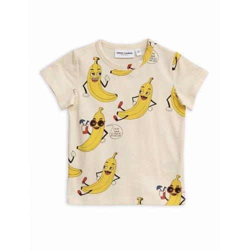 Mini Rodini Banana AOP SS Tee