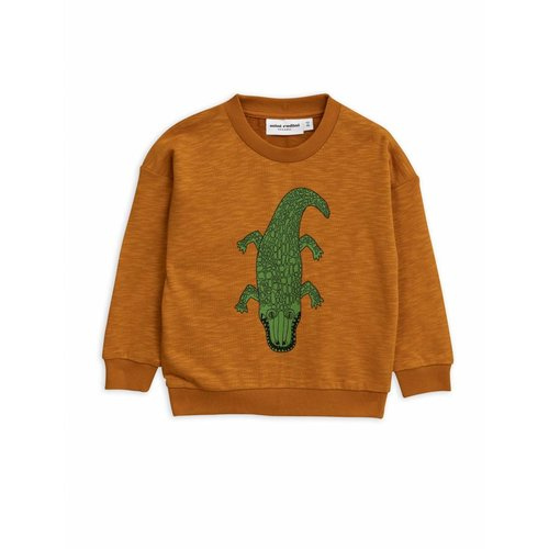 Mini Rodini Crocco SP Sweatshirt brown - trui