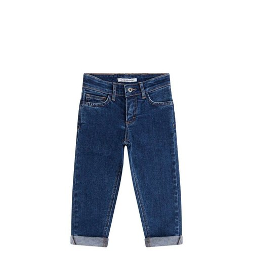 MINGO Straight Wasted Jeans Denim