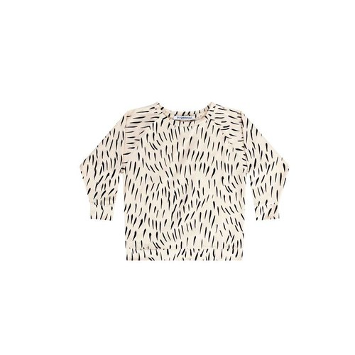 MINGO Long Sleeve Fur Print