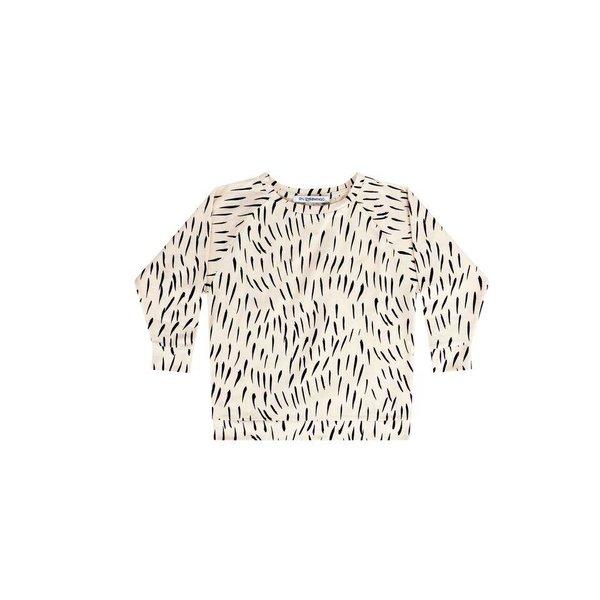 Long Sleeve Fur Print