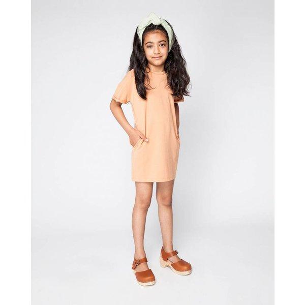 T-shirt Dress Toasted Nut - jurk
