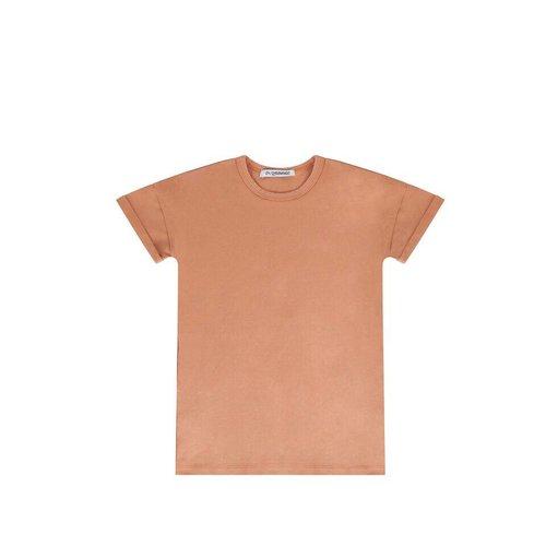 MINGO T-shirt Dress Toasted Nut - jurk