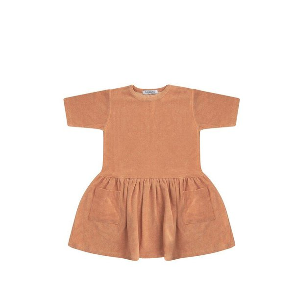 Terry Dress Toasted Nut