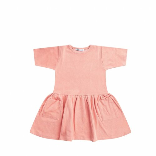 MINGO Terry Dress Peach Pink