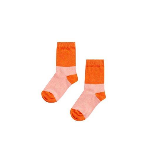 MINGO Socks Peach Pink/Koi