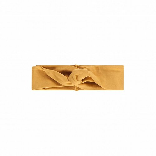 House of Jamie Turban Headband Honey Mustard haarband