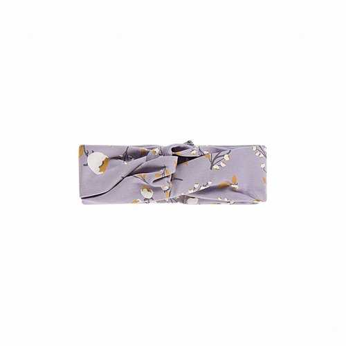 House of Jamie Turban Headband Floral Dusty Lilac