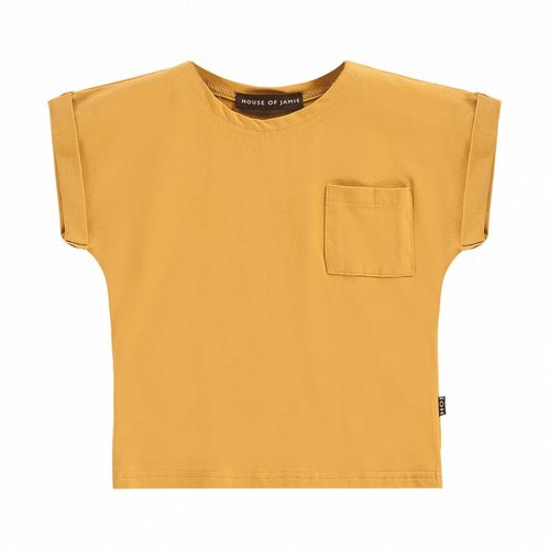 House of Jamie Batwing Tee Honey Mustard
