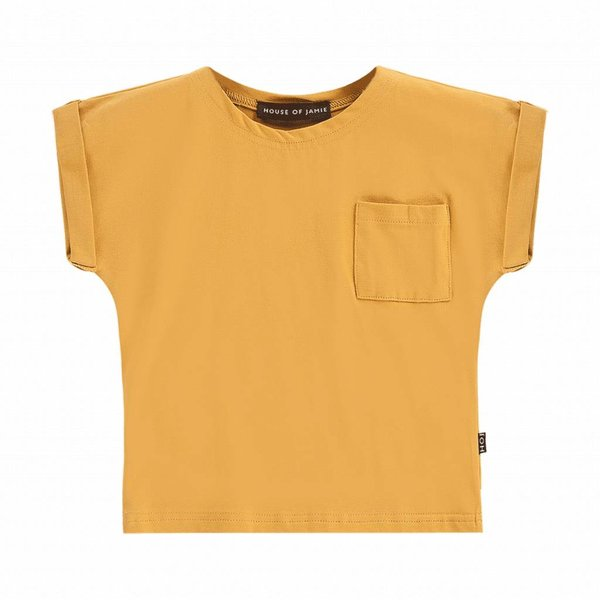 Batwing Tee Honey Mustard