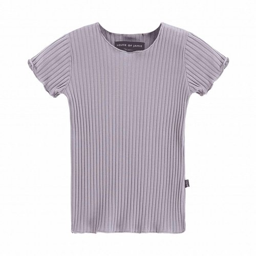 House of Jamie Rib tee Lilac