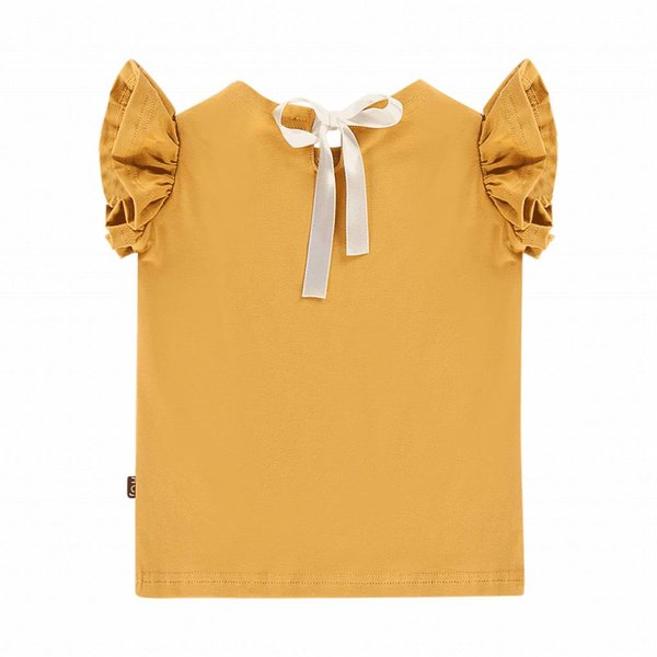 Ruffled Tee Honey Mustard