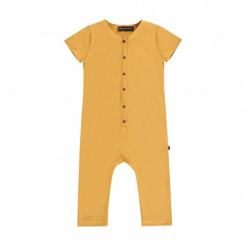 House of Jamie Laid Back Jumpsuit Honey Mustard