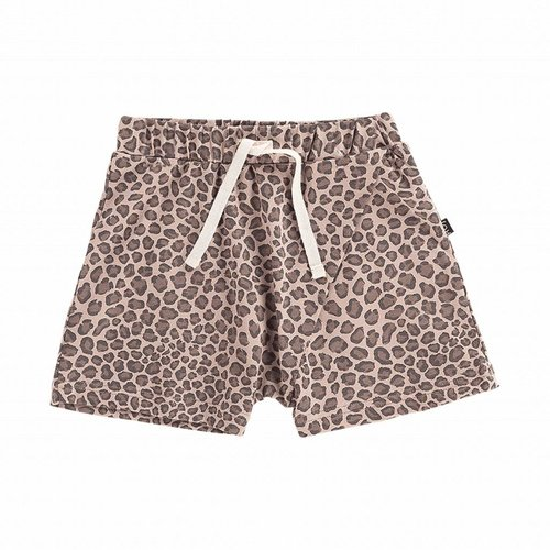 House of Jamie Crossover Short Caramel Leopard
